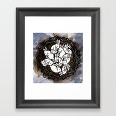 Hibernate Framed Art Print