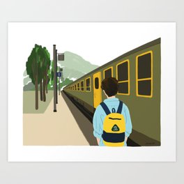 Call me by your name - Parting Art Print