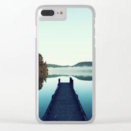 Gloomy dock Clear iPhone Case