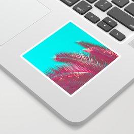 Neon Palm Sticker