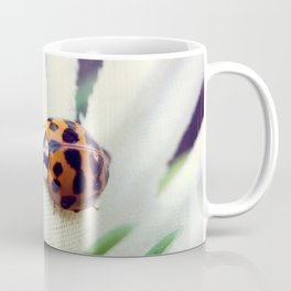 Ladybug On Flower Coffee Mug