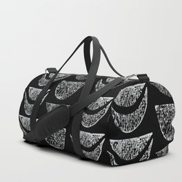 Textured Crescents Duffle Bag