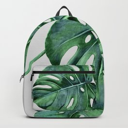 Monstera Backpack