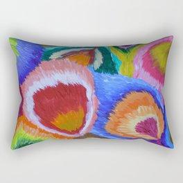 Abstract color study Rectangular Pillow