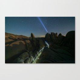 Night Explorers Canvas Print