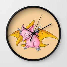 Pterapiggy Wall Clock