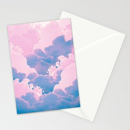 Cotton Candy Cloud Stationery Cards