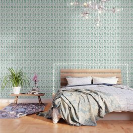 green herbs family watercolor Wallpaper