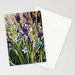 Bluebells, Magical Flowers Of Spells Stationery Cards