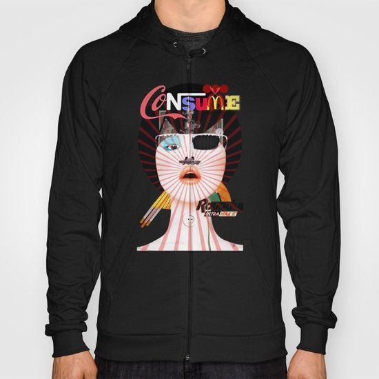 Crazy Woman - Cusy Consume/Collab with Hugo Barros Hoody