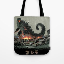 Godzilla - Gray Edition Tote Bag