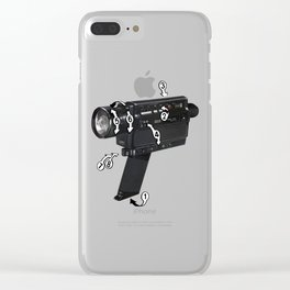 Bad Robot - Super8 Clear iPhone Case