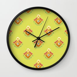 Waffles and Bacon (Grass is Greener on the Otherside) Wall Clock