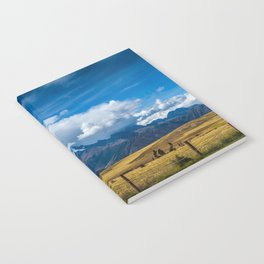 Andes Mountains Notebook