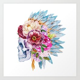 Skull 08 Art Print
