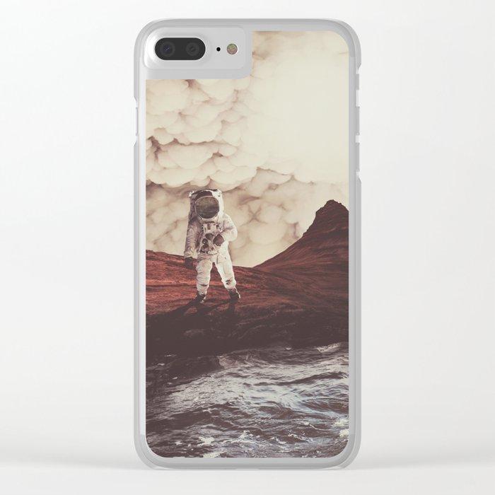 TERRAFORMING MARS Clear iPhone Case