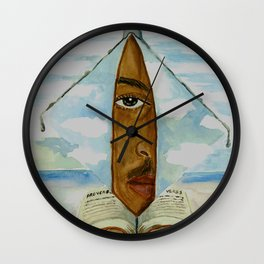 Man In the Mirror Wall Clock