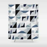 stark Shower Curtains featuring Stark  by Ilsa Falis