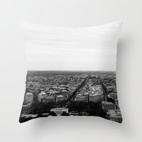 washington Throw Pillows featuring Washington  by Rin Wolfe