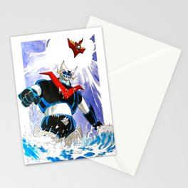 The Great Mazinger and Brian Condor Stationery Cards