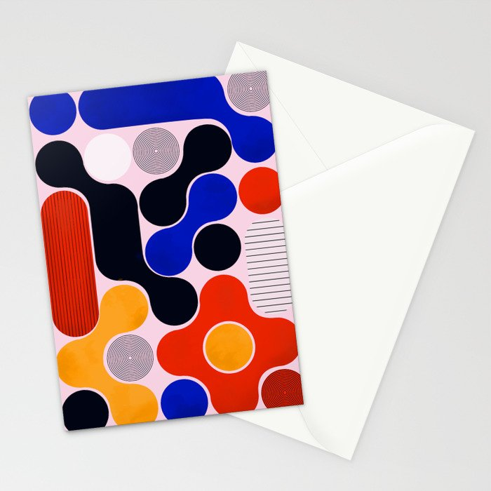 Mid-century no5 Stationery Cards