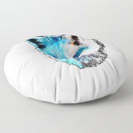 Space Fox no2 Floor Pillow