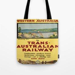 Vintage poster - Western Australia Tote Bag