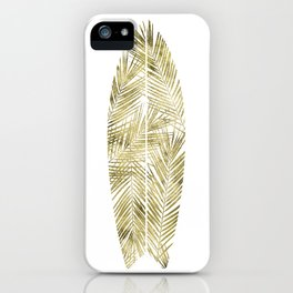 SURFBOARD poster gold iPhone Case