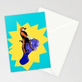Cowboy Manatee Stationery Cards