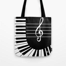 Piano Keys I Tote Bag