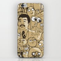 meme iPhone & iPod Skins featuring Meme Color by neicosta