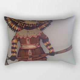 The Warrior Rectangular Pillow