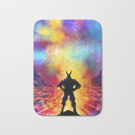 My Hero Academia Inspired Painting   ALL MIGHT Bath Mat