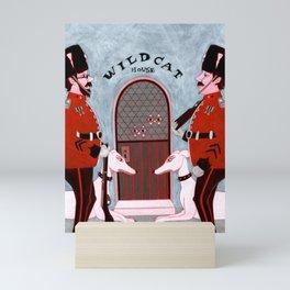 WILDCAT HOUSE Mini Art Print