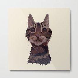 Bonnie The Cat Metal Print