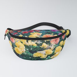 Ranunculus in Granada | Colorful floral fine art photographer | Botanical photo art Fanny Pack