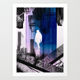 The Time Traveler Art Print