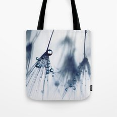 dandelion - blue Tote Bag
