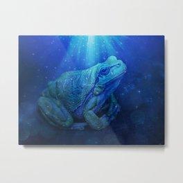 The InFocus Happy Frog Collection VI Metal Print