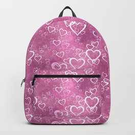 Valentines Day Hearts 2 Backpack