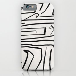 Modern improvisation 02 iPhone Case