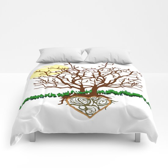 The Loving Tree Comforters