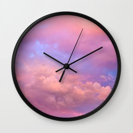 See the Dawn (Dawn Clouds Abstract) Wall Clock