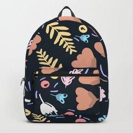 Winter Floral Wonderland Backpack