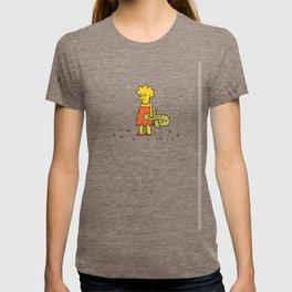 Sad Lisa in a Field T-shirt