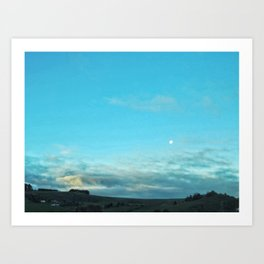 Moony Art Print