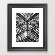 Metal and Glass Framed Art Print