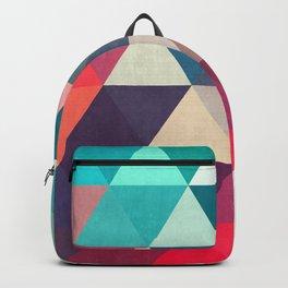 Modern triangular composition VII Backpack