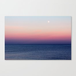 Indigo Horizon Canvas Print
