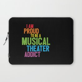 Musical Theater Pride Laptop Sleeve